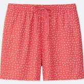 Uniqlo Women's Dot-print Relaco Shorts