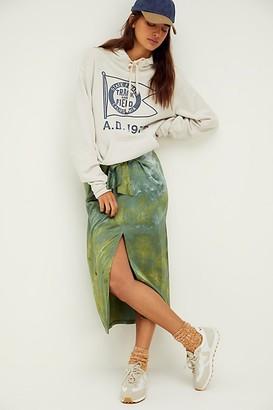 Riverside Tool & Dye Silk Tie Skirt