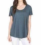 Lilla P Pima Cotton-Modal Slit Back Shirt - Short Sleeve (For Women)