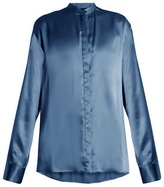 Haider Ackermann Dali oversized silk-satin blouse