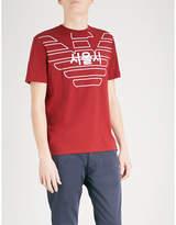 Emporio Armani Eagle City Cotton-jersey T-shirt