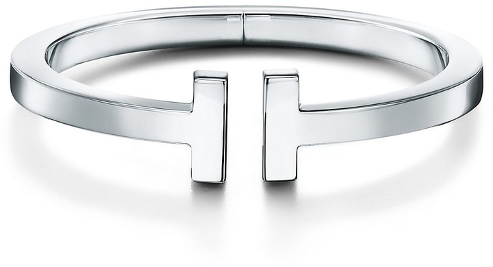 Tiffany & Co. T square bracelet in sterling silver, large