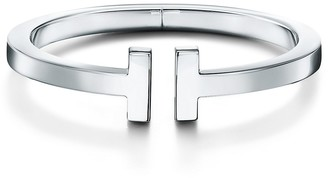 Tiffany & Co. & Co. T square bracelet in sterling silver, extra small