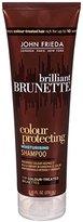 John Frieda Brilliant Brunette Color Protecting Moisturizing Shampoo, 8.45 Fluid Ounce