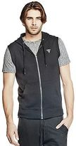 GUESS Men's Gideon Sleeveless Hoodie