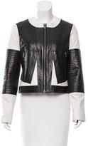 Diane von Furstenberg Newton Leather Jacket