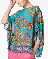 Trina Turk Marlete Silk Printed Top