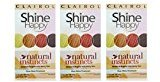 Clairol Natural Instincts Hair Color Shine Happy 00 Clear Shine Treatment 1 Kit (Pack of 3)