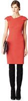 Reiss Fiorella CROSS OVER SHOULDER DETAIL DRESS