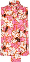 Marni botanical print blouse