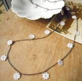 LaBelle et la Bete Lace Daisy Chain Necklace