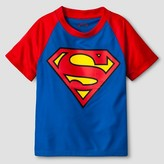Superman Toddler Boys' Short Sleeve T-Shirt - Black