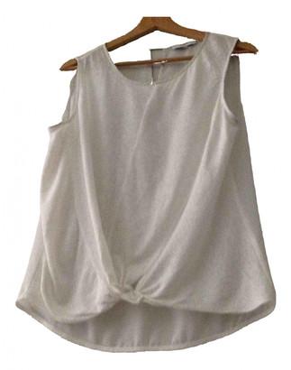 Suncoo White Linen Top for Women