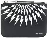 Neil Barrett Women's Black Leather Wallet.