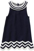 Gap Crochet zig zag dress
