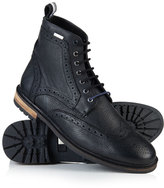 Superdry Brad Brogue Stamford Leather Boots