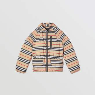 Burberry Icon Stripe Down-filled Jacket