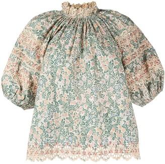 Ulla Johnson Lorna floral print blouse