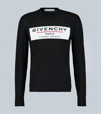 Givenchy Logo merino wool sweater