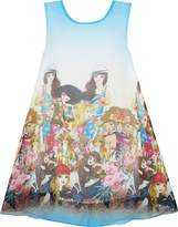 Sunny Fashion HK81 Girls Dress Tank Modern People Figure Print