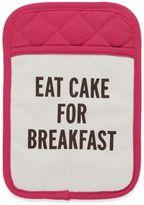 "Kate Spade Eat Cake for Breakfast"" Pot Holder in Pink"