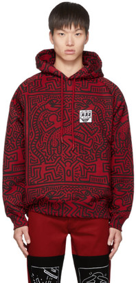 Études Red and Black Keith Haring Edition Odysseus Hoodie