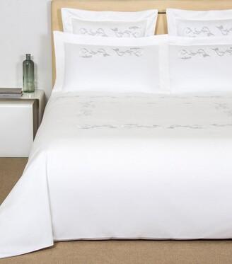 Frette Tracery Embroidery Square Pillowcase (65cm x 65cm)