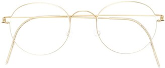 Lindberg Morten round glasses