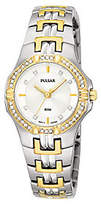 Pulsar Crystal Two-Tone Watch