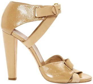 Pierre Hardy Beige Leather Sandals
