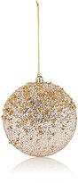 Gold Eagle USA Glitter & Bead Disc Ornament-GOLD, SILVER, NO COLOR