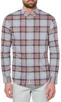 Original Penguin P55 Heritage Slim Fit Plaid Shirt
