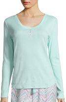 SLEEP CHIC Sleep Chic Long Sleeve Pajama Top
