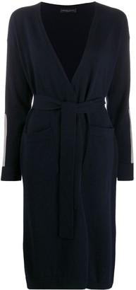 Fabiana Filippi Arm-Patch Cardigan Coat