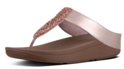 FitFlop Women's Sparklie Crystal Toe Post Sandal Women's Shoes