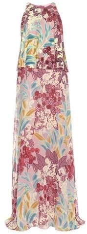 Giamba Silk crêpe dress