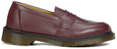 Dr. Martens Women's Addy Loafers Cherry Red Smooth