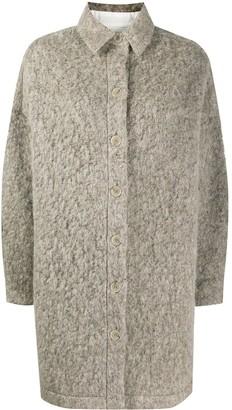 IRO Furry Knit Coat