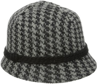 San Diego Hat Company Women's Houndstooth Cloche Hat