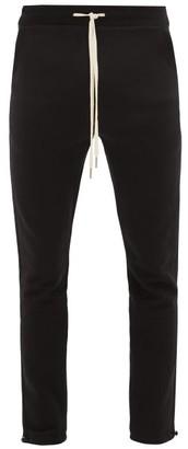 John Elliott Sochi Cotton-jersey Track Pants - Black