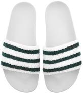 adidas Adilette Flip Flops White