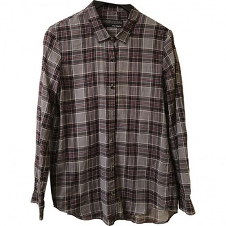 The Kooples Anthracite Cotton Top for Women