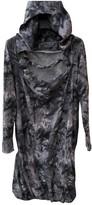 McQ Grey Cotton Dress for Women