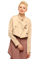 Holmes Tiffany Lawrence Cropped Trench