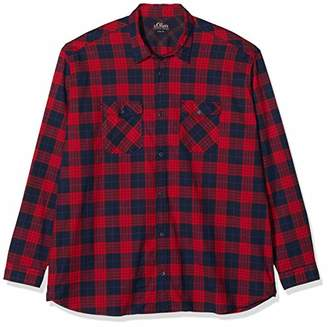 S'Oliver Big Size Men's 15.910.21.3736 Casual Shirt,(Size: XXXX-Large)