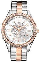 JBW Women's J6303D Analog Display Japanese Quartz Two Tone Watch