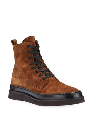 Aquatalia Men's Corbin Suede Ankle Boots