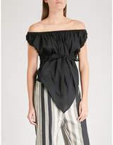 Vivienne Westwood Hope Gypsy off-the-shoulder cotton top