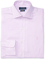 Polo Ralph Lauren Men's Slim-Fit Stretch Pink Striped Dress Shirt