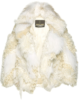Roberto Cavalli Mixed Fur Jacket